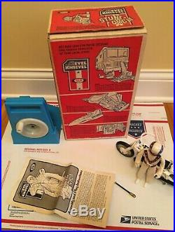 Evel Knievel Stunt Cycle Ideal 1974 With Action Figure Original Box Working