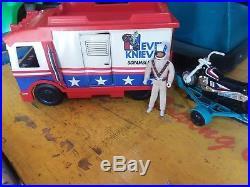 Evel Knievel van cycle figure plus