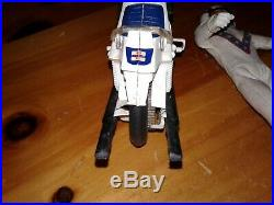 Evil Knievel Vintage 1970's Action Figure Stunt Cycle Rare Still has forks decal