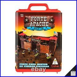 Fort Apache Vintage Old West Cowboys Indians Action Figure Deluxe Battle Playset