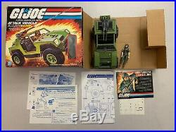 G. I. Joe Attack Vehicle (vamp) Near Complete Figure Included Vintage Hasbro Toy