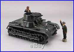 GAMA Tank Blech Panzer Metall Ketten Figur DRGM 30s Vintage Tin Toy Metal Tracks