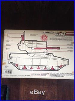 GI Joe 1989 Slaughter's Marauders Equalizer With Original Box & 3 Figures