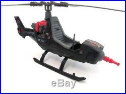 GI Joe Action Force COBRA FANG Helicopter Vintage Hasbro Toy Figure 100% 83
