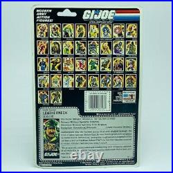 Gi Joe Cobra action figure toy vintage moc Hasbro 1985 Leatherneck Marine RARE