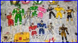 HUGE Vintage Mighty Morphin Power Rangers Action Figure Toy huge lot Bandai