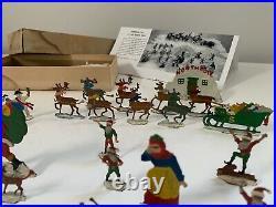 Hans Heinrichsen Christmas Eve at the North Pole BOX German flats