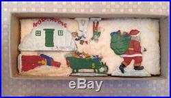 Hans Heinrichsen Metal Figures North Pole Christmas 30 Pieces German /germany