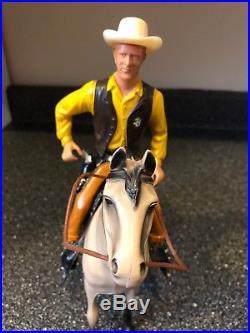 Hartland Gunsmoke's Matt Dillon Figure With Horse Complete EX +++