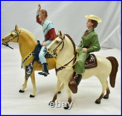 Hartland Roy Rogers & Dale Evans Western Figures Riding Horses Collectible