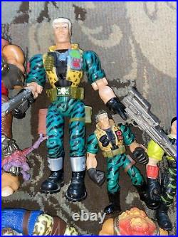 Hasbro Small Soldiers Vintage Figure Toy Lot Archer Talking Chip/ Gorgonites 98