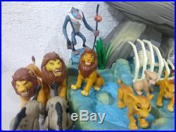 Huge The Lion King Figure Toy Lot Mattel 1994 Vintage 26 Figures And Pride Rock