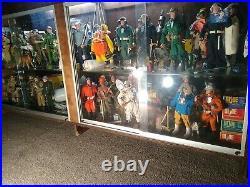 Huge Vintage 1964 Original Gi Joe Action Figure Lot (59) Uniforms And (9) Boxes