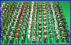 Huge Vintage Lot Tudor Electric NFL Football Game Figures 20+ Teams 338 Players