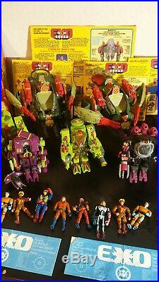 Huge Vintage toy Exo Squad Lot