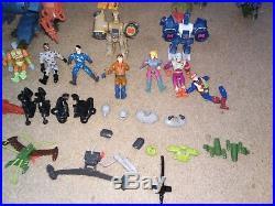Huge Vintage toy playmates Exo Squad Bundle robot action figures robotech battle