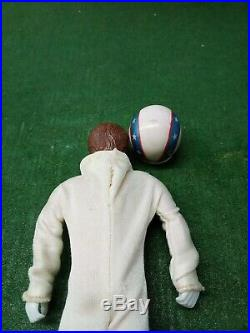 Ideal Vintage Evel Knievel Stunt Cycle with Figure, Red Energizer