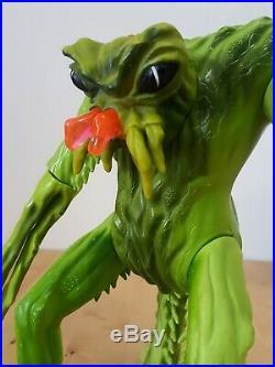 Inhumanoids Tendril Figure huge 14 Tall Vintage Toy from Hasbro 1986