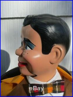 JERRY MAHONEY Ventriloquist dummy doll puppet figure Paul Winchell Juro Novelty