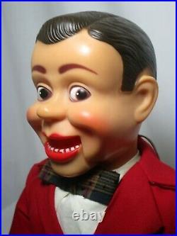 JERRY MAHONEY Ventriloquist dummy puppet figure doll Paul Winchell Folk art VTG