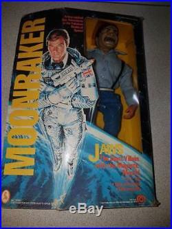 James Bond Moonraker Jaws 1979 MEGO Action Figure Vintage Toys rare 70s