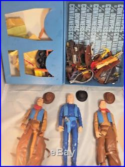 Johnny West Original Marx Figure Lot With Tons of Accessories (116+ peices)