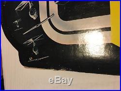 Kenner Vintage Star Wars Action Figure Display Toy Center Gondola Header Sign