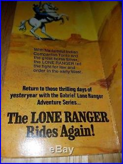 LONE RANGER Action Figure by Gabriel #23620 -IOB- (Not played with)