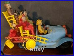 Large Beverly Hillbillies Ideal Toy Truck With Figures Vintage 1960s
