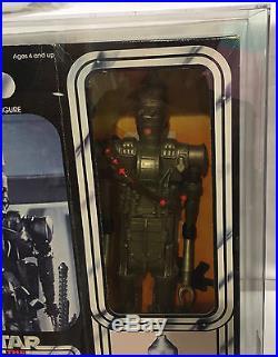 Large Size IG-88 AFA 70 EX+ Star Wars vintage Kenner ESB 12 figure toy MIB Ig88