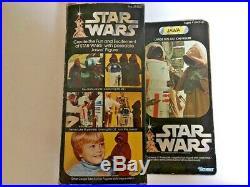 Large Size Jawa AFA 80 NM Star Wars vintage Kenner 12 action figure toy MIB