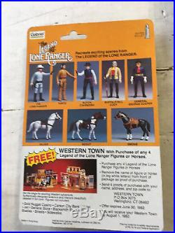 Legend of the Lone Ranger Gabriel Full Set of Five Figures Mint on Cards
