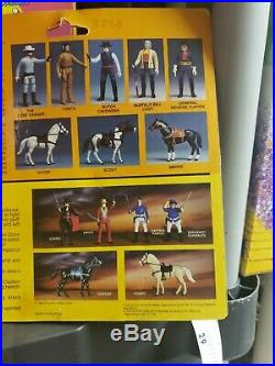 Legend of the Lone Ranger Lone Ranger & Silver Figure Sealed Gabriel 1981