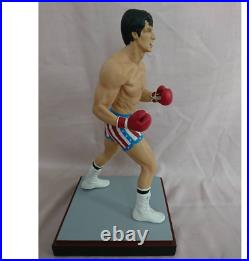 Limited Hollywood Collectibles HCG Rocky Balboa 16 Scale Statue Figure with Box