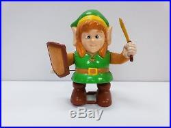 Link Legend Of Zelda Nintendo NES 1989 Wind up Walking Vintage Toy Figure Rare