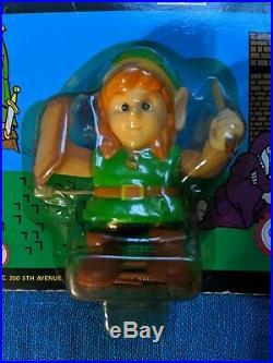 Link from Legend Of Zelda Nintendo NES 1989 Wind-up Vintage Toy Figure Rare