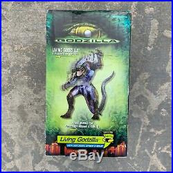 Living Godzilla 10 Action Figure Toy 1998 Trendmasters Rare Collectible NEW Vtg
