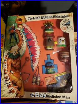 Lone Ranger Gabriel HUBLEY Marx Action Figure Adventure sets Rare full set of 11