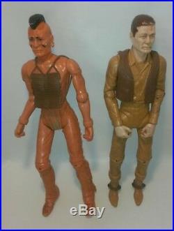 Lot Vintage Marx Johnny West & Fighting Eagle Indian Figures Horses & Flame