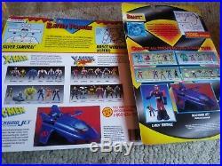 Lot of 39 Vintage Xmen Action Figures Toybiz Toy Biz New Sealed