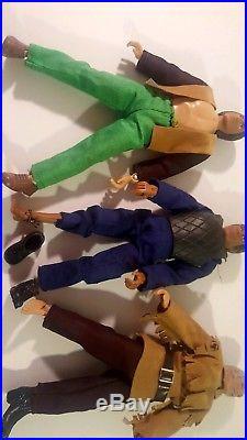 Lot of 9 Vintage 1970's Mego 8 inch Action Figures, Batman, Wonder Woman etc