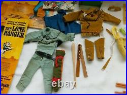 Lot of Over 30 Pieces, Gabriel 1973 Lone Ranger Action Figure Accessories