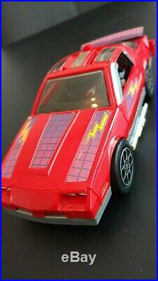 M. A. S. K. Kenner Vintage Toy Vehicle and Figure Lot 1985, 1986 (some complete)