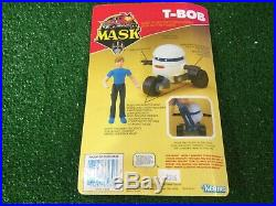 M. A. S. K mask Kenner T Bob Scott tracker carded Moc Figure Vtg toy