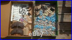 MARX 1972 CIVIL WAR Blue & Gray HERITAGE Playset BOX with playset figures