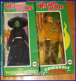 MEGO 1975 Wizard Of Oz 6 Boxed Figures And Emerald City Playset withWizard and box