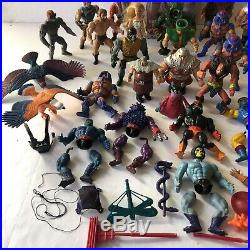 MOTU He-Man Masters of the Universe 1980's Loose Action Figure Huge VTG Toy Lot