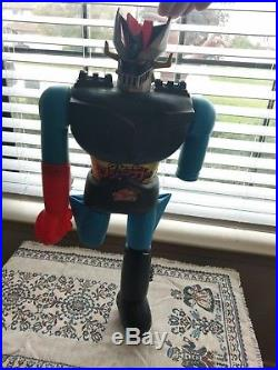 Machinder Mazinga Z vintage 70s collectible toy Daimos 4 figures collection
