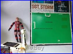 Major Matt Mason Sgt. Storm Astronaut Figure Space Sled & Card Mattel 1966