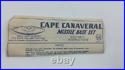 Marx Atomic Cape Canaveral Missile Base Play Set No. 688 With Figures